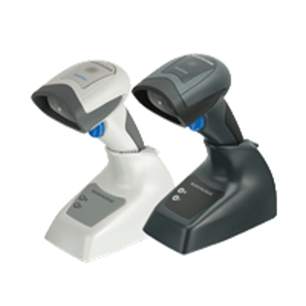 Picture of Datalogic QuickScan® I QBT-2400 Cordless Bluetooth 2D barcode scanner with base