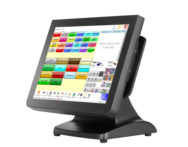 Picture of Pos System Partner Tech SP-850 touchscreen point of sale terminal