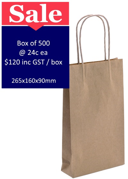 Picture of Brown Paper Bags Small