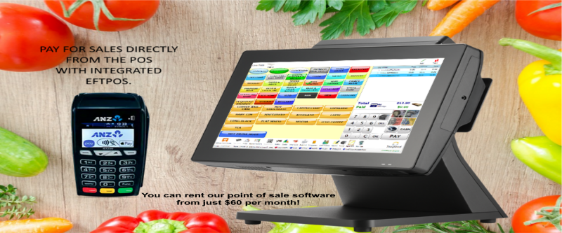 touchscreen point of sale pos